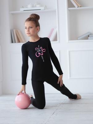 Футболка ДР гимнастка с лентой