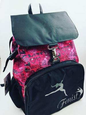 Рюкзак на затяжке и карабине