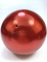 Мяч Pastorelli glitter (02069) Rosso 18,5 см