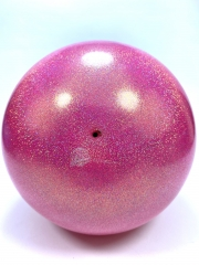 Мяч Pastorelli glitter (02452) Rossa Fluo Baby 18,5 см