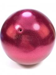 Мяч Pastorelli glitter (02068) Lampone 18,5 см