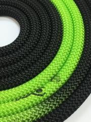 Скакалка Venturelli  Black*Green