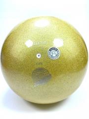 Мяч Chacott glitter (632) LimeYellow 18,5 см