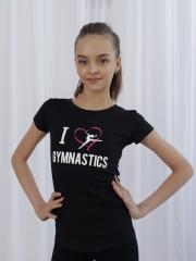 Футболка КР I Love gymnastik