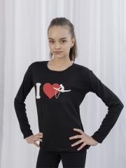 Футболка ДР Love Gimnastic флис
