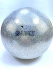 Мяч Pastorelli glitter (3180) Silver 18,5 см