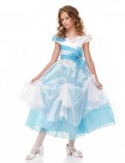 Ариель бело-голубое