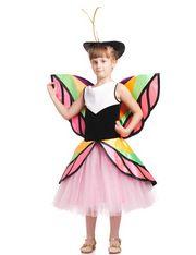 Бабочка цветная