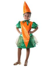 Морковка платье
