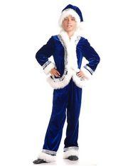 Санта Клаус синий