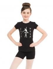 Футболка КР балерина