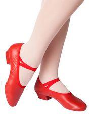 Туфли Колорит, красный