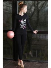 Футболка ДР гимнастка с мячом Chacott