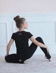 Футболка КР гимнастка с лентой