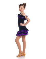 Блуза 312/1 Африканка, фиолет